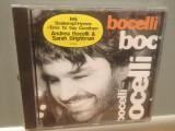 ANDREA BOCELLI - BOCELLI (1995/Polydor/GERMANY) - CD NOU/Sigilat/Original