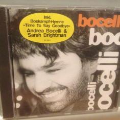 ANDREA BOCELLI - BOCELLI (1995/Polydor/GERMANY) - CD NOU/Sigilat/Original, universal records