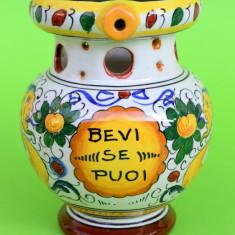 VAS DIN CERAMICA, LUCRAT SI DECORAT MANUAL ITALIA L2 - Arta Ceramica