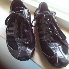Pantofi sport adidasi geox respira marime 39 - Adidasi dama Geox, Culoare: Negru