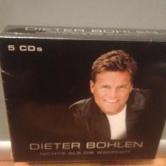 DIETER BOHLEN - NICHTS ALS..5CD BOX (2002/BMG/GERMANY) - CD NOU/Sigilat/Original - Muzica Dance ariola