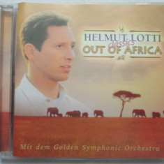 Helmut Lotti &The Golden Symphonic Orchestra* ‎– Out Of Africa CD, EU - Muzica soundtrack universal records