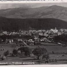 VATRA DORNEI, VEDERE GENERALA, STAMPILA CENZURA CAMPULUNG BUCOVINA 6 - Carte Postala Bucovina dupa 1918, Circulata, Fotografie
