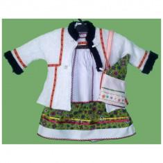 Costum traditional Oas pentru botez fetite 1-3 luni - Carnaval24