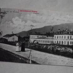 SALUTARI DIN ROMANIA, PREDEAL, 1905 // CATRE POSTALA - Carte Postala Transilvania pana la 1904, Circulata, Fotografie