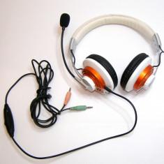 Casti fir marca Hama frecventa 30Hz-15 kHz(161) - Casca PC
