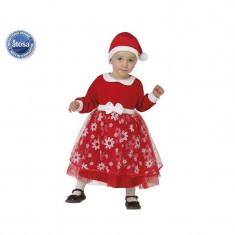 Costum Craciunita bebelusi 6-12 luni - Carnaval24 - Costum Mos Craciun