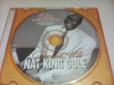 CD NAT KING COLE-GREATEST HITS ORIGINAL FARA COPERTA