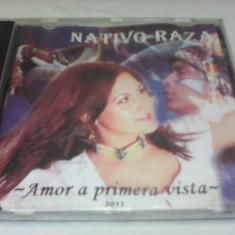 CD NATIVO RAZA-AMOR A PRIMERA VISTA MUZICA AMERINDIANA - Muzica Ambientala