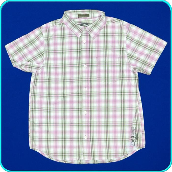 Camasa cu maneca scurta, FRUMOASA, bumbac H&M → baieti   11—12 ani   146—152 cm