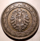 E.304 GERMANIA DEUTSCHES REICH 20 PFENNIG 1888 A, Europa, Cupru-Nichel