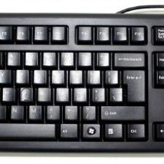 Tastatura A4TECH model: KR-85 layout: US NEGRU USB, Cu fir