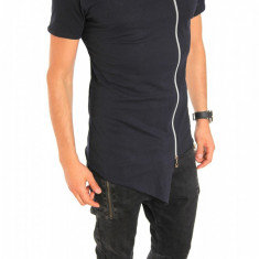 Tricou tip ZARA bleumarin - tricou barbati - tricou slim fit - 6401, Marime: XL, Culoare: Din imagine