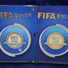 FIFA FEVER - Special Edition Celebrating 100 years of FIFA. Box 2 DVD-uri FIFA.