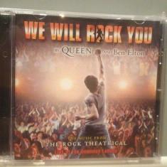 WE WILL ROCK YOU - THE ROCK THEATRICAL (2003/ Emi/UK) - CD NOU/Sigilat/Original - Muzica Rock emi records