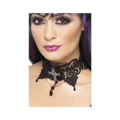 Colier Dantela Gothic Lace - Carnaval24