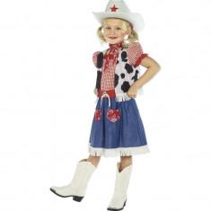 Costum Albastru Cowgirl S - Carnaval24 - Costum carnaval