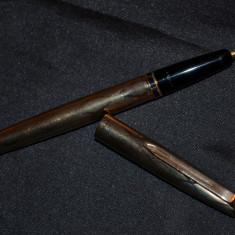 STILOU - AUR MASIV - 8K(333) - AURORA 98 GL + Penita AUR - 1965 - M - 15g. -Rar
