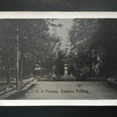 Focsani - Gradina Publica - Carte Postala Moldova 1904-1918, Circulata, Fotografie