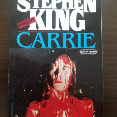 STEPHEN KING - Carrie - editura Nemira, 1993, 218 p. - Carte Horror