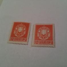 Italia 1930 blazoane imperiale/ 2v. MH, Nestampilat