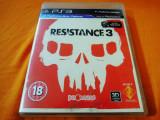 Joc Resistance 3, PS3, original, alte sute de jocuri!, Shooting, 16+, Single player, Sony