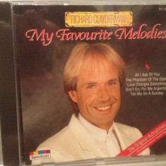 RICHARD CLAYDERMAN - MY FAVOURITE..(1988/SPECTRUM/RFG) - CD NOU/Sigilat/Original - Muzica Clasica universal records