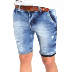 Blugi tip Zara fashion - blugi barbati blugi slimfit blugi conici - cod 6375, Marime: 30, 31, 32, 33, Culoare: Din imagine