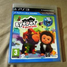 Joc Eyepet and Friends Move, PS3, original, alte sute de jocuri! - Jocuri PS3 Sony, Actiune, 3+, Single player