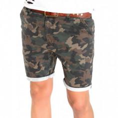 Pantaloni scurti CAMUFLAJ - SUMMER EDITION - 6377 - Bermude barbati, Marime: 29, 31, 32, Culoare: Din imagine