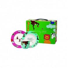 Set 3 accesorii copii metal suitcase funny zoo