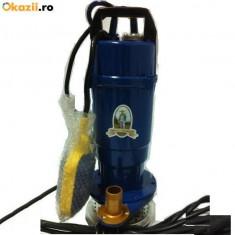 Pompa de apa submersibila Micul fermier 370W 16m cu FLOTOR - Pompa gradina, Pompe de suprafata