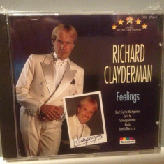 RICHARD CLAYDERMAN - FEELINGS (1988/ SPECTRUM/ RFG) - CD NOU/Sigilat/Original - Muzica Clasica universal records