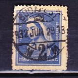 Timbre UNGARIA 1932 = 700 ANI SF. ELIZBETH, Stampilat