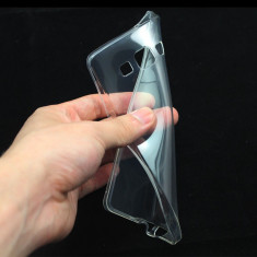 Husa transparenta silicon Samsung Galaxy Grand Prime G530H / G5308W + folie