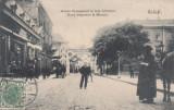 GALATI , STR  DOMNEASCA IN FATA LIBRARIEI NOUA  NEGOESCU & MANITIU  CIRC.AUG'907, Circulata, Printata