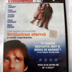 STRĂLUCIREA ETERNĂ A MINȚII NEPRIHĂNITE [2004] (ORIGINAL, IMPECABIL, CU ROMÂNĂ) - Film comedie, DVD, Romana