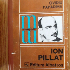 ION PILLAT- OVIDIU PAPADIMA,