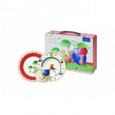 Set 3 accesorii copii metal suitcase kiddy bears