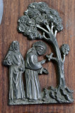 OBIECT DECORATIV Francisc de Assisi `Predica adresata pãsãrilor` PELTRO