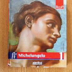 VIATA SI OPERA LUI MICHELANGELO,