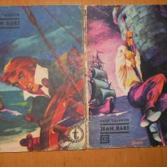 JEAN BART - RADU VALENTIN - 2 VOLUME - COLECTIA CLUBUL TEMERARILOR NR 32 ,33