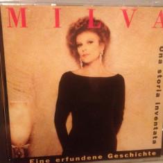 MILVA - UNA STORIA INVENTATA (1989/METRONOME/GERMANY) - CD NOU/Sigilat/Original - Muzica Pop universal records