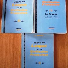 COURS DE LANGUE ET DE CIVILISATION FRANCAIS- G. MAUGER, VOL II, III, IV - Curs Limba Franceza