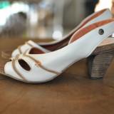 HUB SANDALE DE PIELE MARIMEA 38 - Sandale dama, Culoare: Din imagine