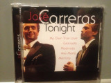 JOSE CARRERAS - TONIGHT  (2000/ PHILIPS REC/ GERMANY) - CD NOU/Sigilat/Original, universal records