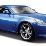 Masinuta Maisto 2009 Nissan 370Z Diecast Vehicle Blue - Masinuta electrica copii