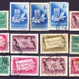 Timbre UNGARIA 1948 = ANIV. 100 ANI INSURECTIA, Stampilat