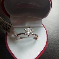 Inel logodna - Inel placate cu aur