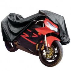 Prelata motocicleta Carpoint 245x80x145, PVC, cu fereastra numar imatriculare